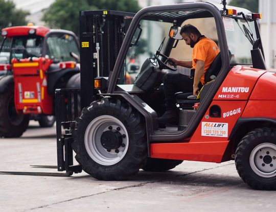 What are the benefits of buying a used forklift