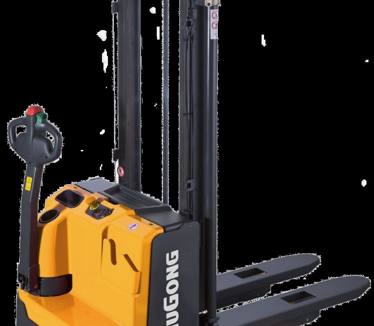 Liugong images and content Electric Forklifts Pedestrian Power Pallet Stacker