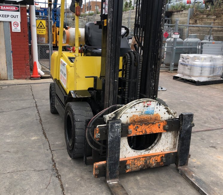 Products Used HysterForklift HysterH30DX3
