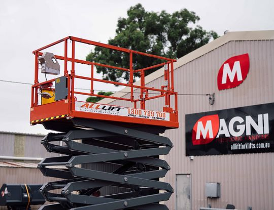 Your go-to guide to scissor lift hire