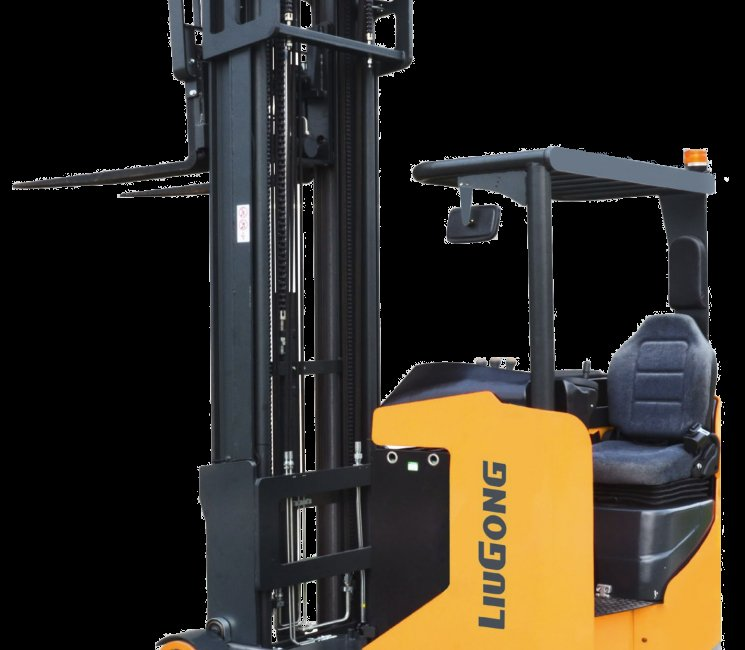 Liugong images and content Electric Forklifts Seated Type Battery reach Truck