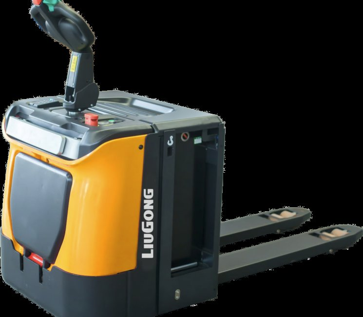 Liugong images and content Electric Forklifts Stand on power pallet Truck