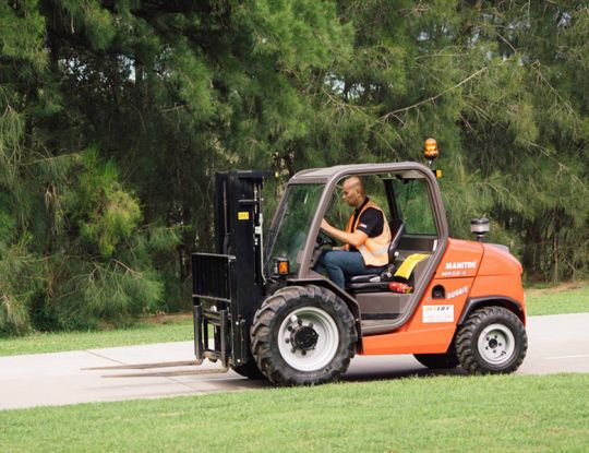 We're still your go-to for the best quality forklift hire! (We've just had a face lift).