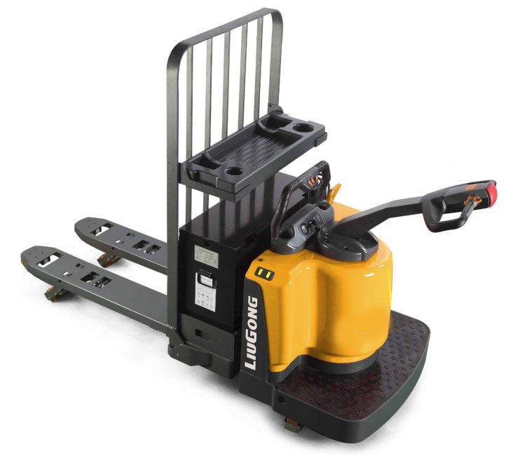 Liugong images and content Electric Forklifts Stand on power pallet Truck  -